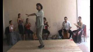 phenomenal flamenco dancer male
