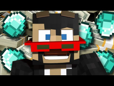 Minecraft: I AM A MILLIONAIRE! - Asleep Adventure Map