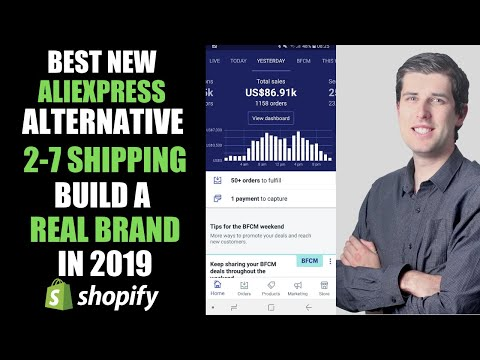 NEW Best ALTERNATIVE To ALIEXPRESS DROPSHIPPING 2019 | 2-7 DAY SHIPPING + White Label + Warehousing thumbnail