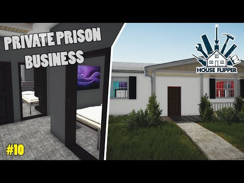 Turning a House Into a Prison   House Flipper Beta #10