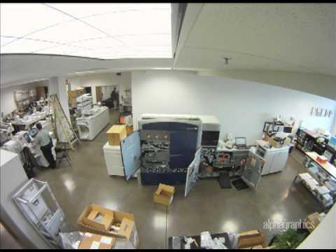 New Xerox Digital Press Installation