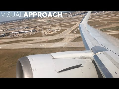 American Airlines Boeing B767-300ER takeoff from Chicago O'Hare