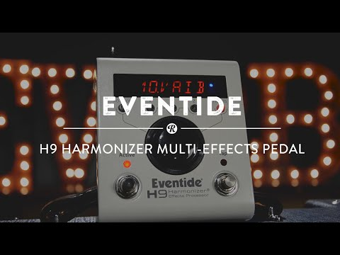 Eventide H9 Harmonizer Multi-Effect Pedal | Reverb Demo Video
