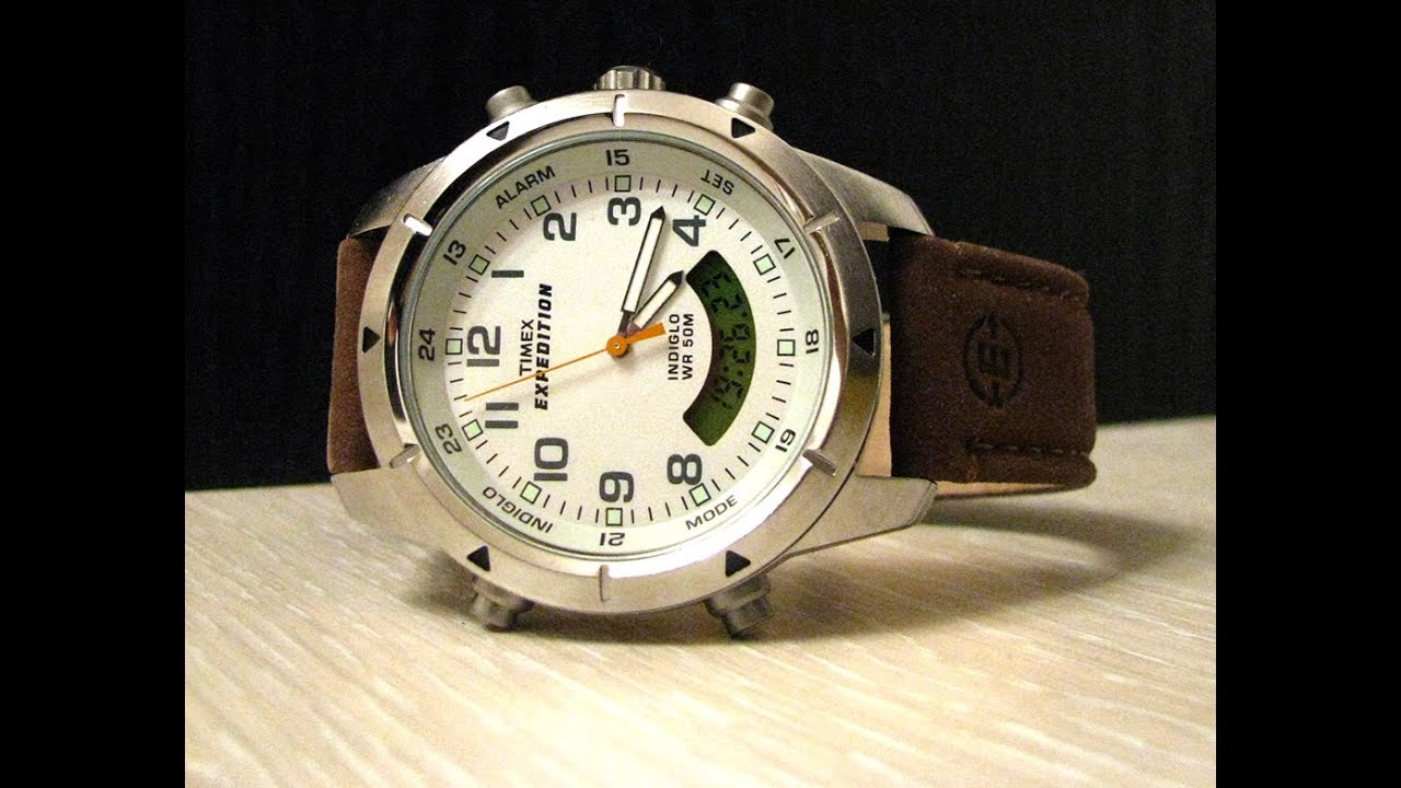 timex expedition t49828 youtube rh youtube com timex expedition indiglo wr50m manual timex expedition watch manual wr50m