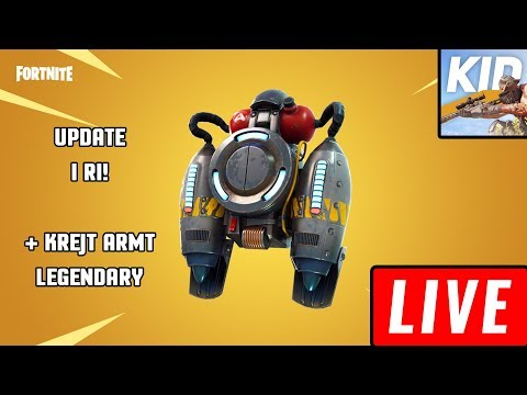 LIVE FORTNITE ME JETPACK + ME MODEN E RE!!
