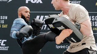 UFC on FOX 24: Demetrious Johnson Open Workout (Complete) – MMA Fighting