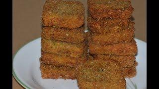 ബ്രെഡ് കൊണ്ട് എളുപ്പത്തിൽ ഒരു സ്പൈസി സ്നാക്ക്// Easy Bread Fry