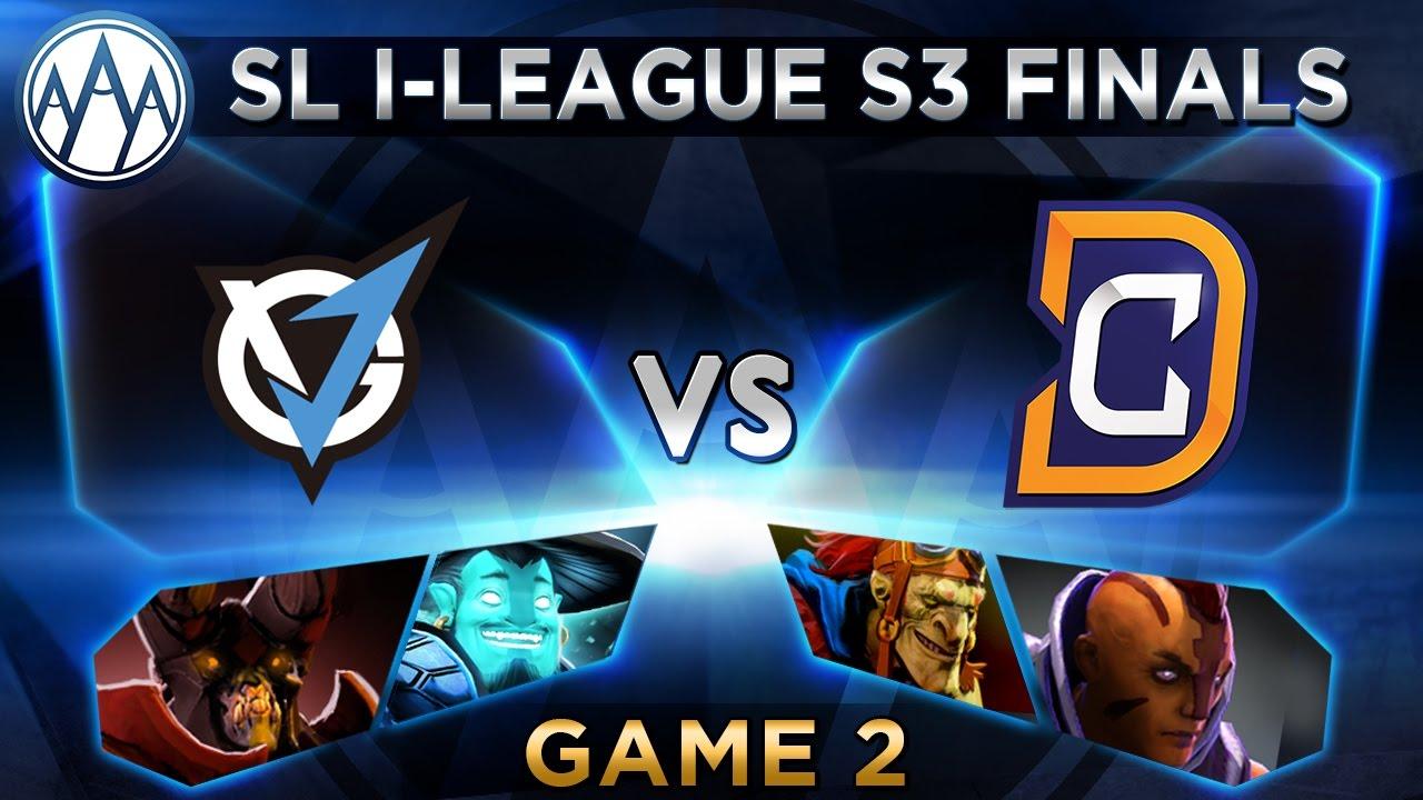 VG.J vs DC Game 2 - SL i-League StarSeries S3 LAN Finals - @MerliniDota @LyricalDota