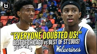 Mario McKinney 32pts Leads Undersized St Louis Vashon vs Undefeated Whitney Young HS!