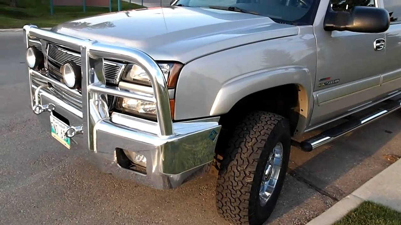HERD AeroLT on 2005 Chevy 2500HD - YouTube