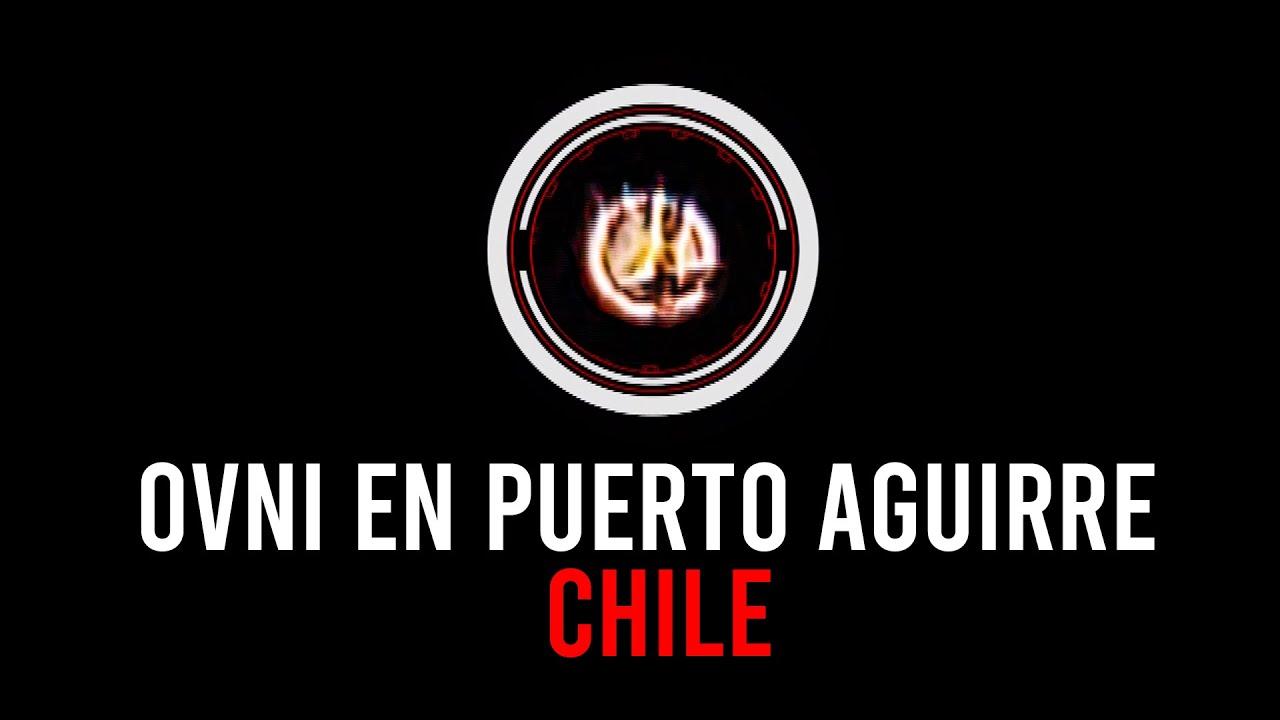 OVNI en Puerto Aguirre CHILE (SI NO LO GRABO, NADIE LO CREE)
