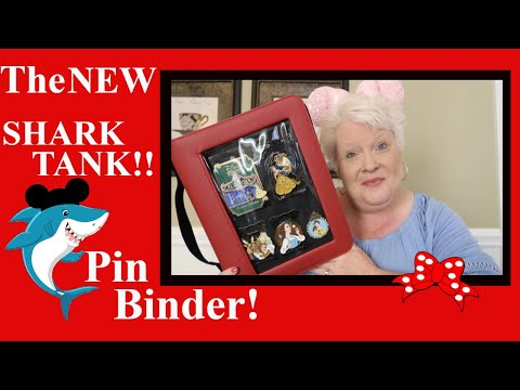 The NEW SHARK TANK! Kraken Trade!! Disney Pin Binder!! Is It The Best??