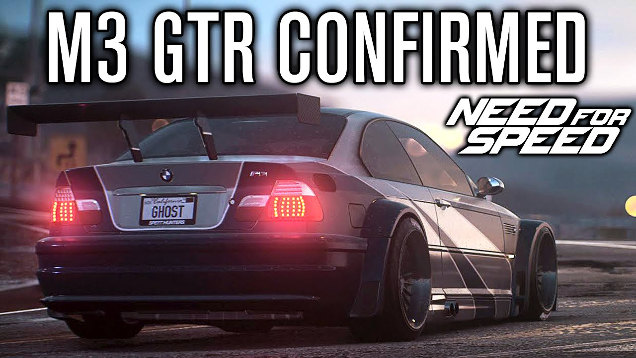 Need For Speed 2015 Bmw M3 Gtr Confirmed Most Wanted E46