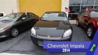 2014 Chevrolet Impala Limited, 100% Política de Revisión de la Aplicación