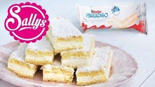 Kinder Paradiso selbst gemacht / nachgemacht: original trifft Sally