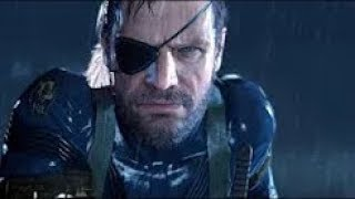 Metal Gear Solid V (Ground Zero) cut scene ending