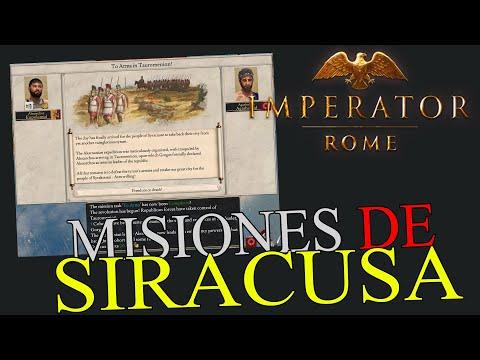 ÁRBOL de MISIONES de SIRACUSA - Imperator Rome Magna Grecia |