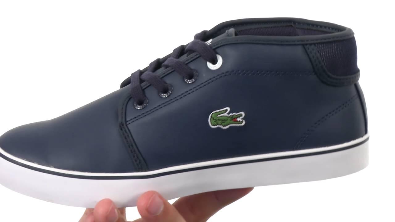 Lacoste Ampthill 316 2 Spj Wht Sneaker Little Kid//Big Kid