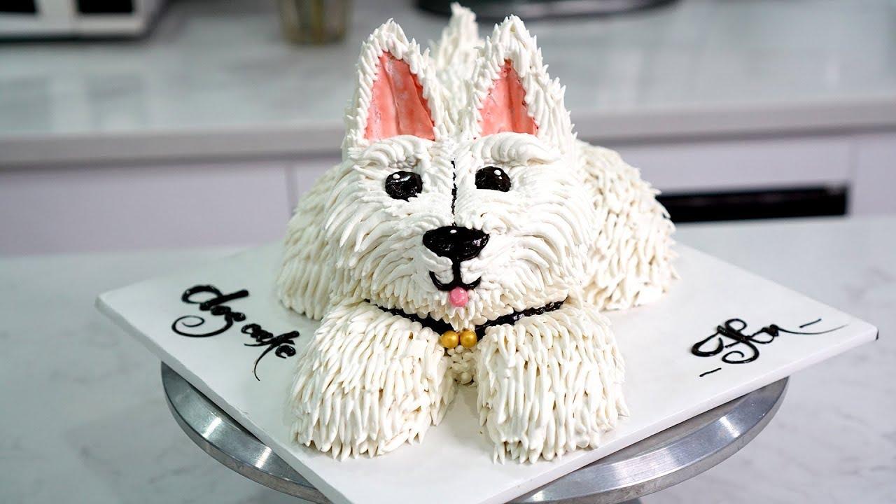 Bánh Sinh Nhật Tạo Hình 3D Chú Chó Ngộ Nghĩnh