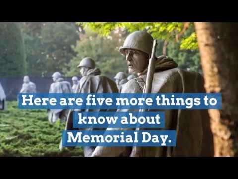 LIST: 2019 Memorial Day observances around Eastern