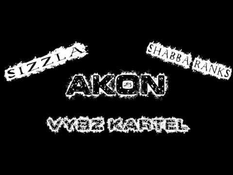 Akon ft Sizzla, Shabba Ranks and Vybz Kartel - Soul Survivor Gun Session (Clear BassBoost)