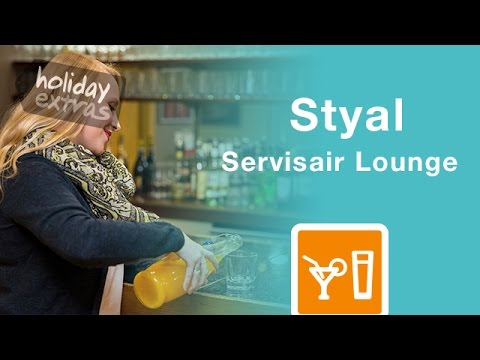 Manchester Airport Styal Servisair Lounge Review | Holiday Extras