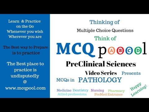 Quiz/MCQs on Pathology - Basic Concepts & Genetics/ General Pathology