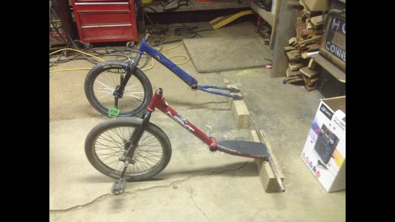 how to build a pedal wheel for a drift trike youtube - Drift Trike Frame