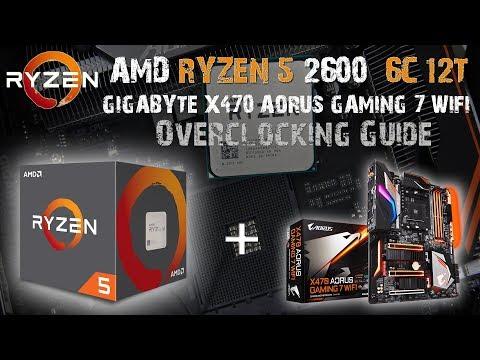AMD RYZEN 5 2600 6C/12T Overclocking Results - CLOCK'EM UP