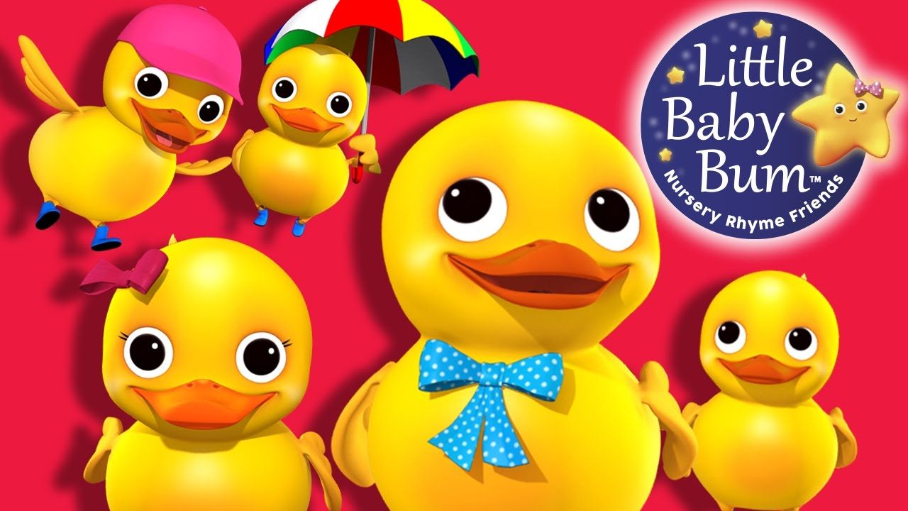 Download Five Little Ducks | Learn with Little Baby Bum | Nursery Rhymes for Babies | Songs for Kids