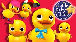 Five Little Ducks | Little Baby Bum | Nursery Rhymes for Babies | Songs for Kids