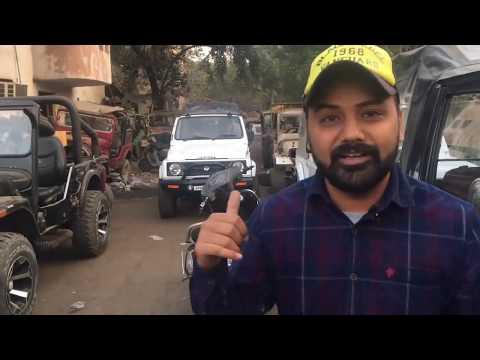 Mayapuri Modified Thar / Jeep Under 4 Lakh | Mayapuri Jeep Market | Delhi