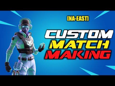 (NA-EAST)  CUSTOM MATCHMAKING SOLO/DUO/SQUAD FORTNITE LIVE /!merch !code !giveaway