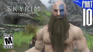 【SKYRIM 200+ MODS】Nord Gameplay Walkthrough Part 10 [PC - HD]