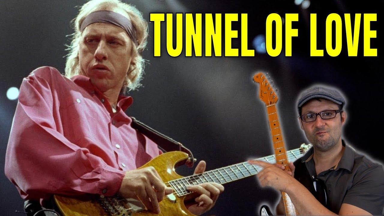 TUNNEL OF LOVE SOLO TUTORIAL - Mark knopfler - Dire Straits