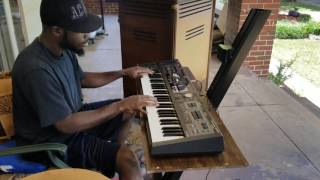Roland VR-09 With 722 Rotosonic Leslie
