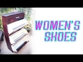 Woman's Shoe Cabinet with a Secret