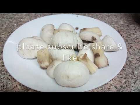 HOW TO CLEAN MUSHROOMS | CLEAN MUSHROOMS | How to clean button mushrooms?| Ep: 67