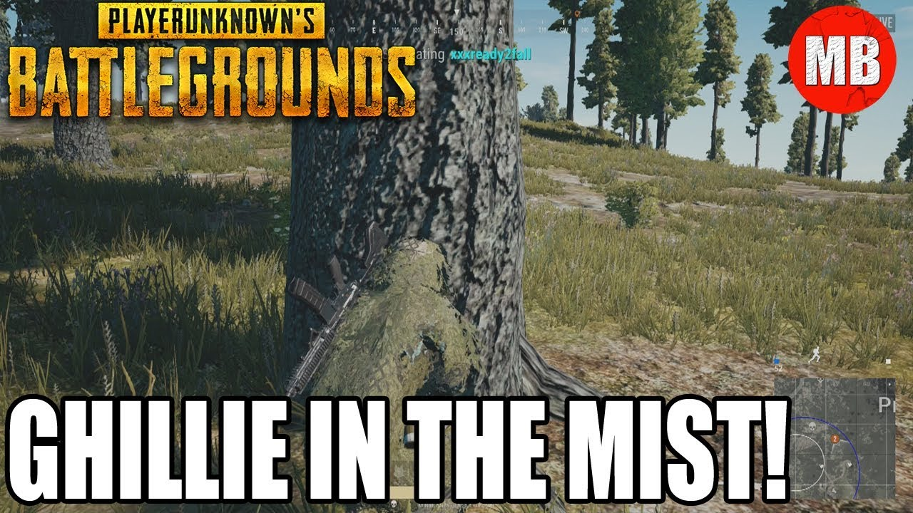 GHILLIE IN THE MIST! - YouTube