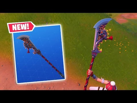 NEW *DRAGON* GUANDAO Pickaxe Gameplay In Fortnite!