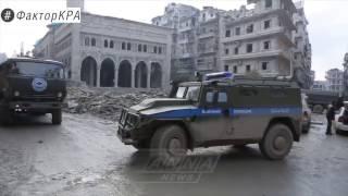 Чеченская военная полиция в Алеппо