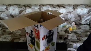 UNBOXING Philips Juicer HR183200 400W
