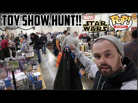 EPISODE 42  TOY HUNTING AT A LOCAL TOY !! FUNKO POPS, MARVEL LEGENDS, Star Wars BLACK SERIES!!!