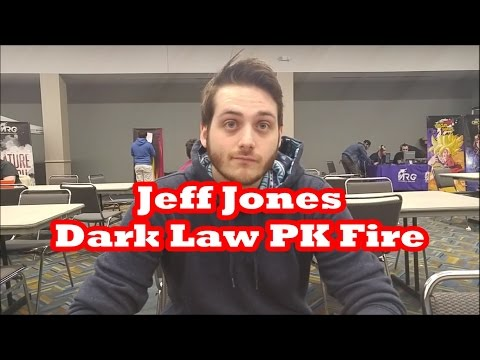 Jeff Jones - Dark Law PK Fire 1st Place 1k Event ARG Detroit Deck Profile