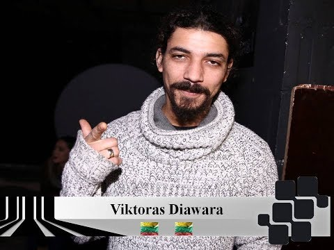 Once again at Eurovision - Viktoras Diawara (Lithuania 2001 & 2006)