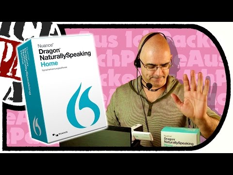 NUANCE Dragon Naturally Speaking 13.0 - SPRACHSOFTWARE mit Tücken (Unboxing / Test)