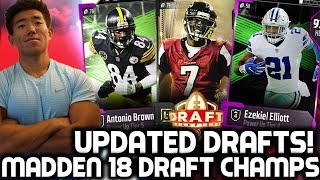 UPDATED DRAFT CHAMPS! SOUPED UP DRAFTS! MADDEN 18 DRAFT CHAMPIONS