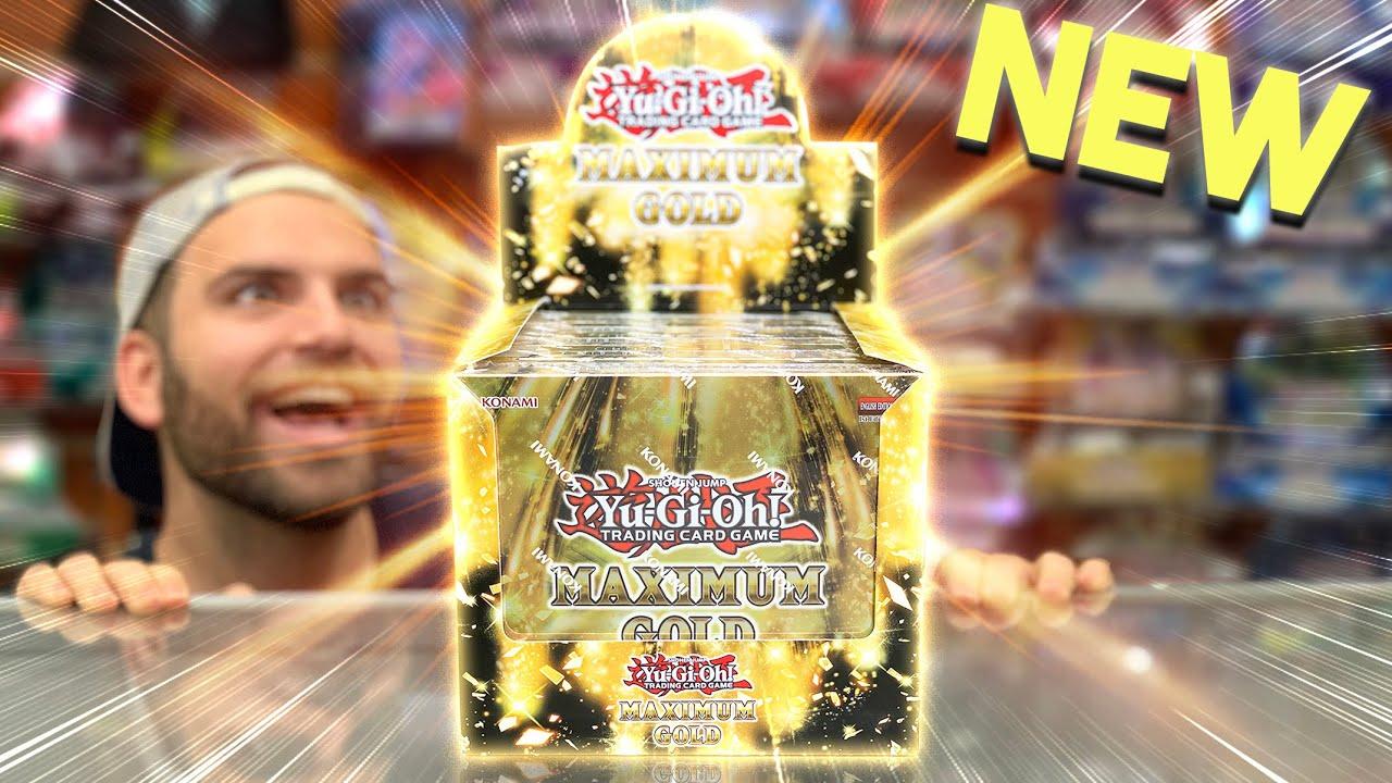 Download Opening KONAMI's *NEW* MAXIMUM GOLD Box | *GODLY GOLDEN PULLS*