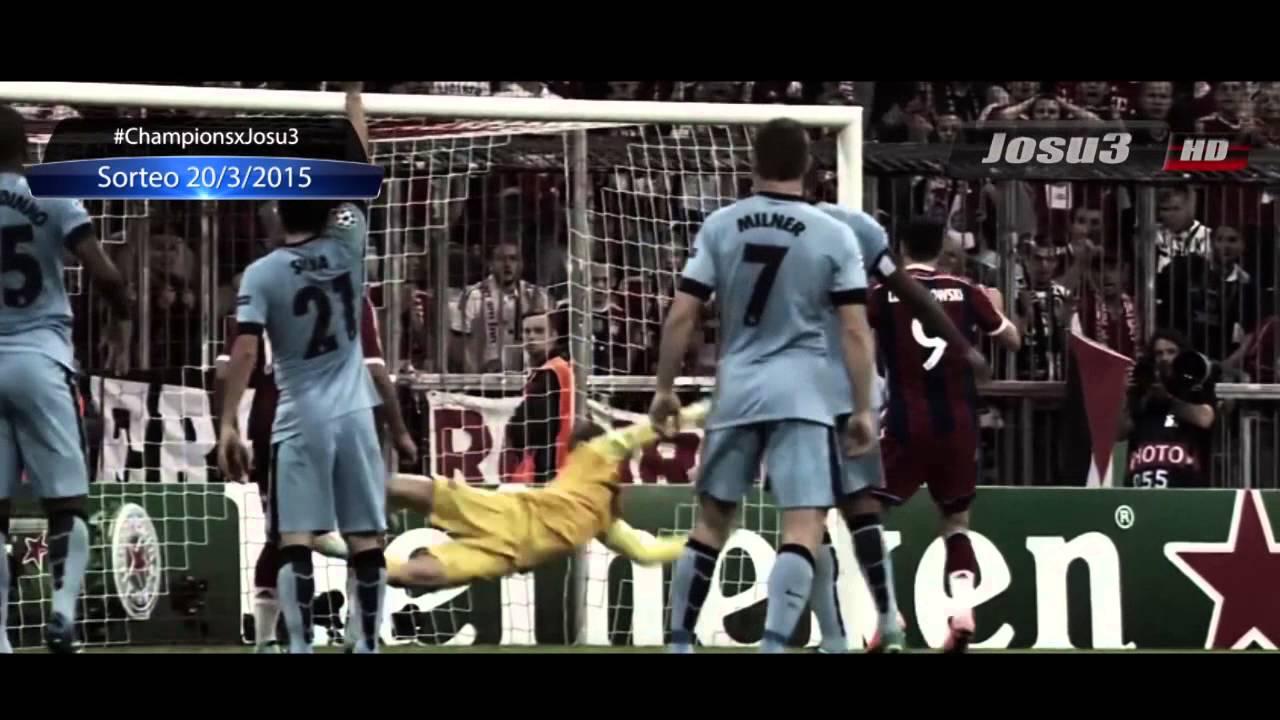 Promo | Sorteo Cuartos de Final UEFA Champions League 2015 - YouTube