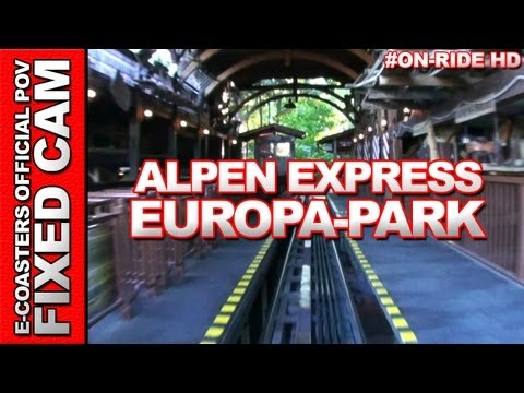 Alpen Express - Europa Park - OnRide POV (Parc d
